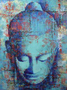 """Master the art of observing. Buddha Face, Buddha Zen, Gautama Buddha, Budha Painting, Buddha Artwork, Angel Art, Painting Inspiration, Artist, Goddesses"