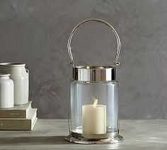 Candle Lanterns And Hurricanes | Pottery Barn