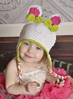 Crochet Easter Bunny Hat | Craftsy