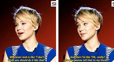 """Tell that to my Oscar.""  XD"