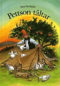 Pettson och Findus tältar och alla andra böcker av Sven Nordqvist