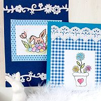 Kartenbasteln im Frühling | Kreativ-Zauber