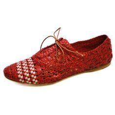 Hand Woven Oxford Tomato I, $159, now featured on Fab.