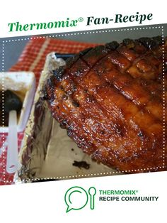 Recipe Christmas Honey and Marmalade Glazed Ham by Catski, learn to make this recipe easily in your kitchen machine and discover other Thermomix recipes in Main dishes - meat. Ham Recipes, Other Recipes, Dinner Recipes, Christmas Recipes, Christmas Ideas, Ham Glaze, Hams, Evening Meals, Marmalade