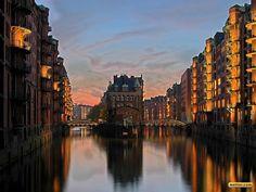 Speicherstadt, Hamburg - my beautiful home town