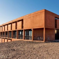 Residencia Paranal: Architect : Auer+Weber Location : Atacama Desert, Chile Film : Quantum of Solace Residencia Paranal ( ESO Hotel ) is located in the middle of the driest desert in the world. Located at 2,400 meters above sea level on Cerro Paranal, it is the accommodations for Paranal Observatory. It was built as an artificial oasis where people can relax between shifts. The hotel has 120 rooms and a canteen, lounge, swimming pool, a fitness center and library. The complex, comprising…