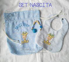 Set Nascita Personalizzabile, by Polvere di Creatività - lavorazioni artigianali, 37,00 € su misshobby.com