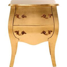 Kommode Romantic Gold Leaf Small