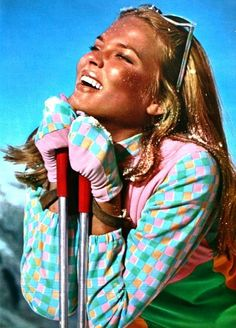 Model Didi Balzer photographed by Jean-Jacques Bugat, Marie Claire France January 1966 Vintage Ski, Vintage Travel Posters, Snowboarding Resorts, Ski Et Snowboard, Ski Ski, Chalet Girl, Beatles, The Long Dark, Ski Bunnies