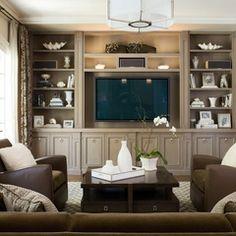contemporary family room by Scheinholtz Associates