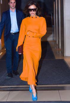 Victoria Beckham, Tendencia 'color-block'