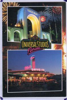 GRAND ENTRANCE & MEL'S DRIVE-IN-UNIVERSAL STUDIOS,FL 1995 | eBay
