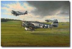 Days of Thunder by Richard Taylor (P-47 Thunderbolt)