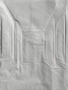 Creased Paper Artworks - By Simon Schubert . . . . . . . . . . . . . . . . . . Sources: (simonschubert.de) (twistedsifter.com)