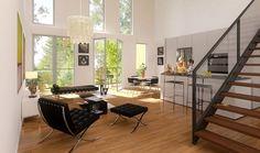 L'ilot Canopée - exemple d'intérieur - #ecoquartier #ginko #bordeaux