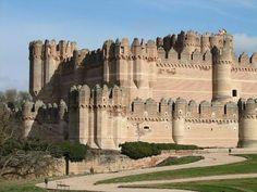 Castillo de Coca, Spain #castle #Spain