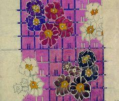 Textile design | Mackintosh, Charles Rennie | V&A Search the ...