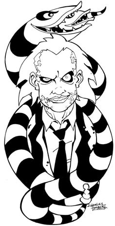 KidSTUFF: Beetlejuice by KidNotorious.deviantart.com on @deviantART