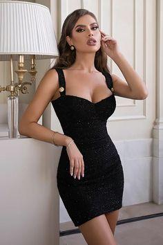 Tweed Shorts, Short Dresses, Formal Dresses, Lbd, My Style, Black, Fashion, Short Gowns, Dresses For Formal