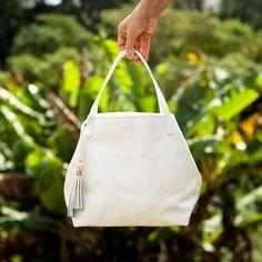 Tote Ankara Branca, linda! Dervish Bags, conheça: www.dervishbags.com.br