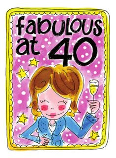 Blond Amsterdam happy birthday 40