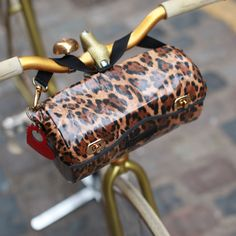 Cyclodelic Handlebar Bag Leopard - Bags & Panniers - Bike Accessories - VeloVixen