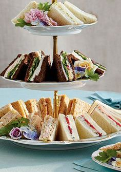 Recipes – The History Of The Tea Sandwich,  Traditional Tea Sandwiches