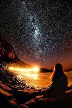 A night of stars ... they adorn the sky!
