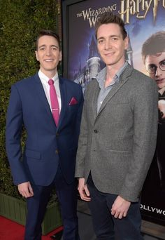 Fred and George aka James & Oliver Phelps                              …