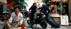 Kawasaki motorcycle driven by Bingbing Li in TRANSFORMERS: AGE OF EXTINCTION (2014) #kawasaki