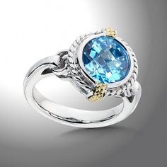 Blue Topaz Ring | Colore SG Available at all four Kenny G & Company Fine Jewelers locations. www.kennygandco.com