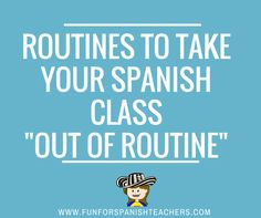 """Yes! The title sounds a little bit redundant, but we all have our own """"ritualitos"""" (little rituals) that we do in every class.  I h..."""