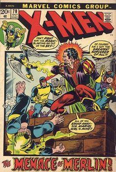X-Men #78. Merlin. #XMen #Merlin  Auction your comics on www.comicbazaar.co.uk