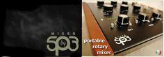 PORTABLE ROTARY MIXER DJ – SP3  – UnoMas