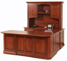 THIS IS WHAT I WANT 33% OFF Amish Furniture: Ellington U Shaped Desk