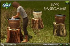 """blackyssims2and3zoo:  """" New sink by mammut.  Details and download at the Simszoo (free registration required)  Find this and a lot more at the Simszoo!  Need help with registration? Have a look here!  If you play Sims 4, too, why don't you check out our..."""