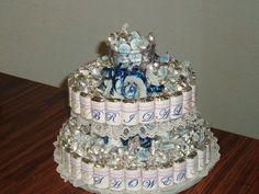 made for wedding shower--mini hersheys and kisses