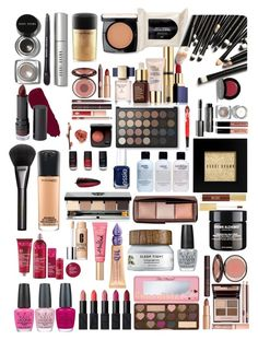 """""""Spot any favourites!??"""" by stoveyyy on Polyvore featuring beauty, OPI, Bobbi Brown Cosmetics, Monki, NARS Cosmetics, MAC Cosmetics, Lancôme, H&M, Gucci and Estée Lauder"""