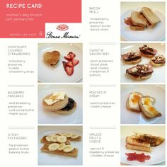 COOKING WITH KIDS 20: jam sandwiches