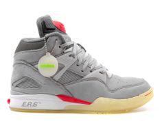 SOLEBOX x REEBOK PUMP OMNI ZONE - GREY RED Pump Sneakers e0beb5a82