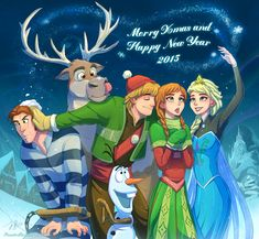 "Frozen Xmas & New Year 2015 "" Lets see now; 11 days late for Christmas and 5 days late for New Year's orz Hey y'all! I hope it's still the season wherever you are now. 2014 was kinda lousy for me (And..."