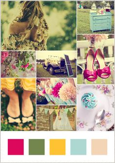 vintage garden picture | Sweet Inspiration Board: #38 Vintage Garden Party | Zuckermonarchie ...
