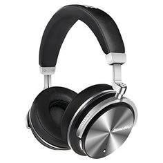 """Bluedio T4S (Turbine) Active Noise Cancelling Over ear Swiveling Wireless Bluetooth Headphones with Mic (Black)"""" #Bluedio #(Turbine) #Active #Noise #Cancelling #Over #Swiveling #Wireless #Bluetooth #Headphones #with #(Black)"""""""