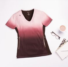 9a4eef23faa Koi Lite Limited Edition Reform Ombre V-neck Scrub Tops | Scrubs & Beyond.  Scrub TopsDobbyStretch ...