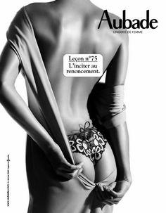 Aubade - Leçon de séduction 75 - L'inciter au renoncement