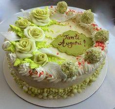 Elegant green Cake
