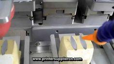 Four Color Tampo Printing Machine With Conveyor