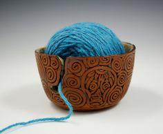 Skull Yarn Bowl- Kulshan Clayworks