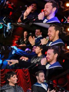 Omg.. if he knew the power of his smile for me... James McAvoy at shyamaween 2016