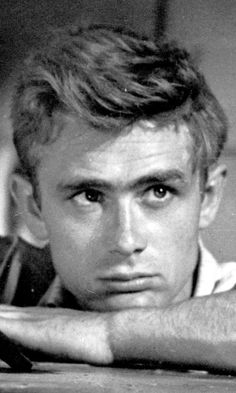 "Movie star James Dean is known for three movie roles; he starred in ""East of Eden,"" ""Rebel Without a Cause,"" and ""Giant,"" all filmed 1954-1955."